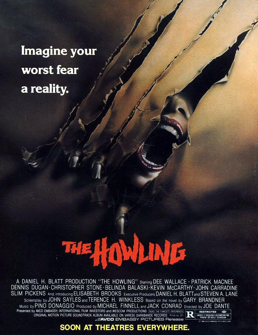 Today in 1981 My favorite werewolf movie The Howling was released theatrically #JoeDante #DeeWallace #PatrickMacnee #JohnCarradine #Werewolves #horrormovie #TuesdayThoughts @Dee_Wallace<br>http://pic.twitter.com/uwrJjm9eJf