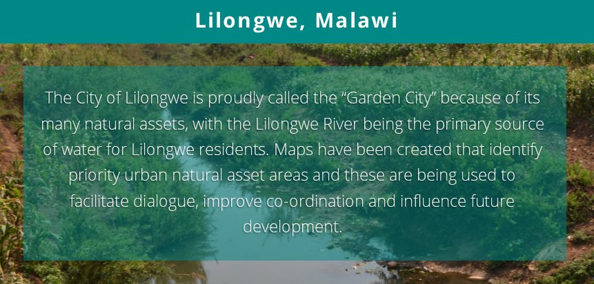 International Day of #ActionforRivers is coming up on 14 March 2018   See what action our #UNARivers project is taking in #Lilongwe #Malawi here:   https://t.co/KsdK6BRILa  #Action4Rivers #Rivers #UrbanNaturalAssets @SwedBio