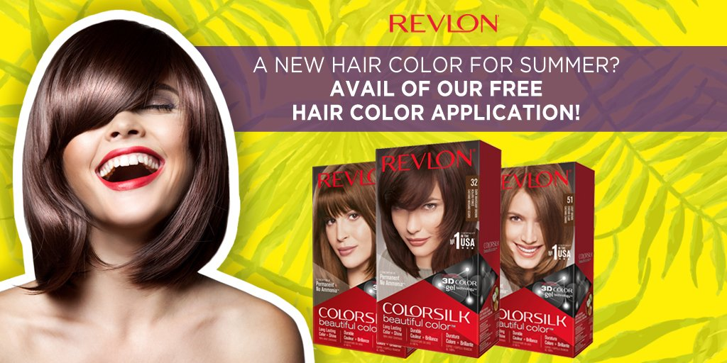 Revlon Philippines On Twitter Buy Any Revlon Hair Color At These