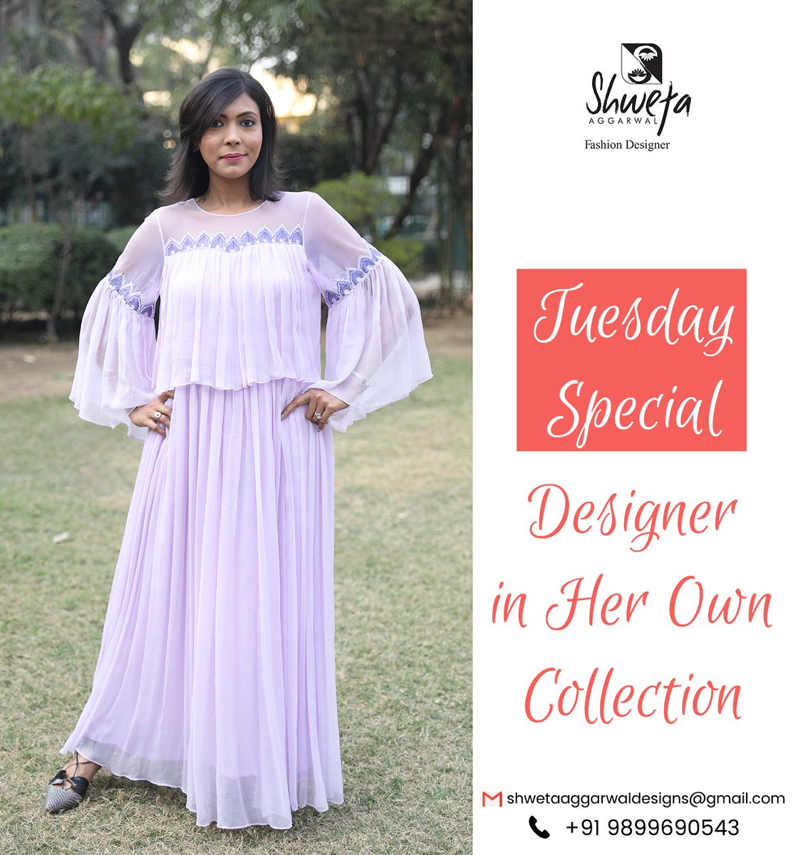Sa Fashion Designer On Twitter Alert All Divas Look As Glamorous As Your Favourite Fashion Icons In Shweta Aggarwal S This Super Gorgeous Outfit Shwetaaggarwal Fashiondesigner Customisation Delhi Festivevibes Coloursthatspeak Embroidery