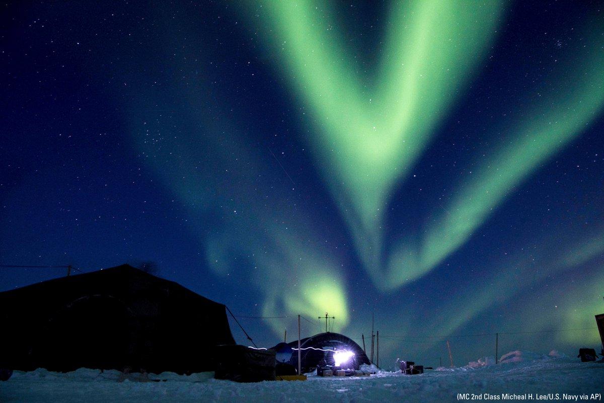 Ледяной лагерь в море Бофорта. Фото Fox News
