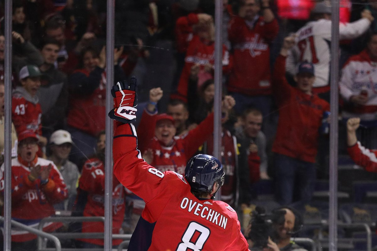 Alex Ovechkin (@ovi8) has scored in 46.2% of his appearances (457 of 990 GP), totaling 119 multi-goal performances: 99 GP with exactly 2 goals 16 GP with exactly 3 goals 4 GP with exactly 4 goals More #NHLStats on the @Capitals captain: atnhl.com/2HuvhVM