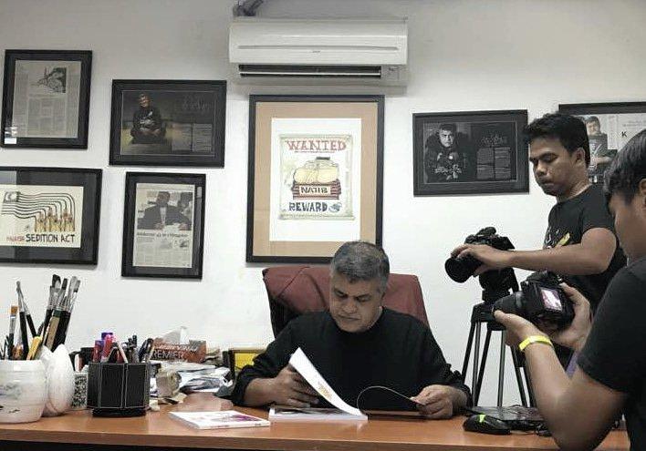 Shooting di studio saya, Studio Padang Bata