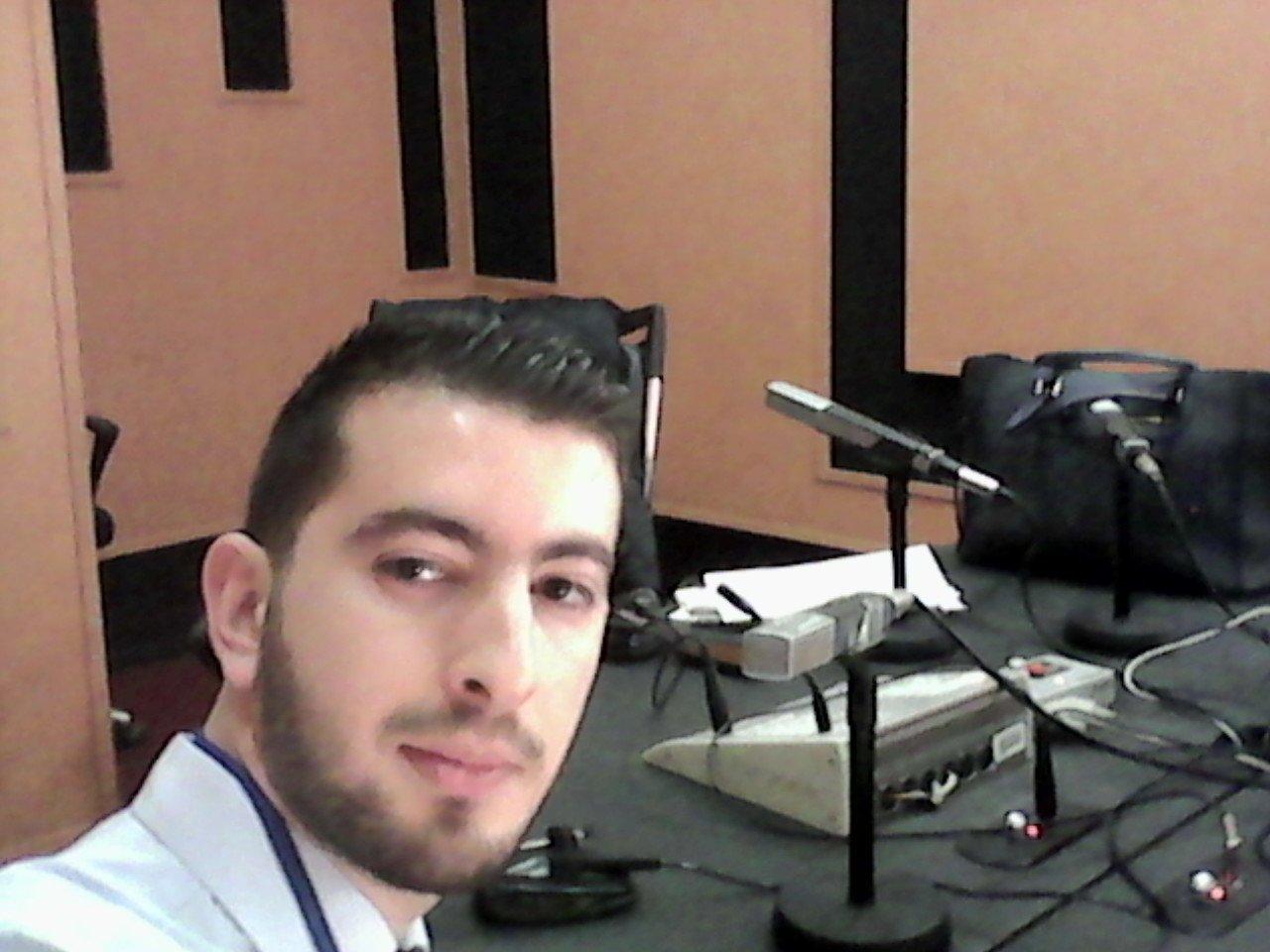 Karim Sidi Said passage sur les ondes de la radio Chaine 1 pour présenter la startup Nkheyar