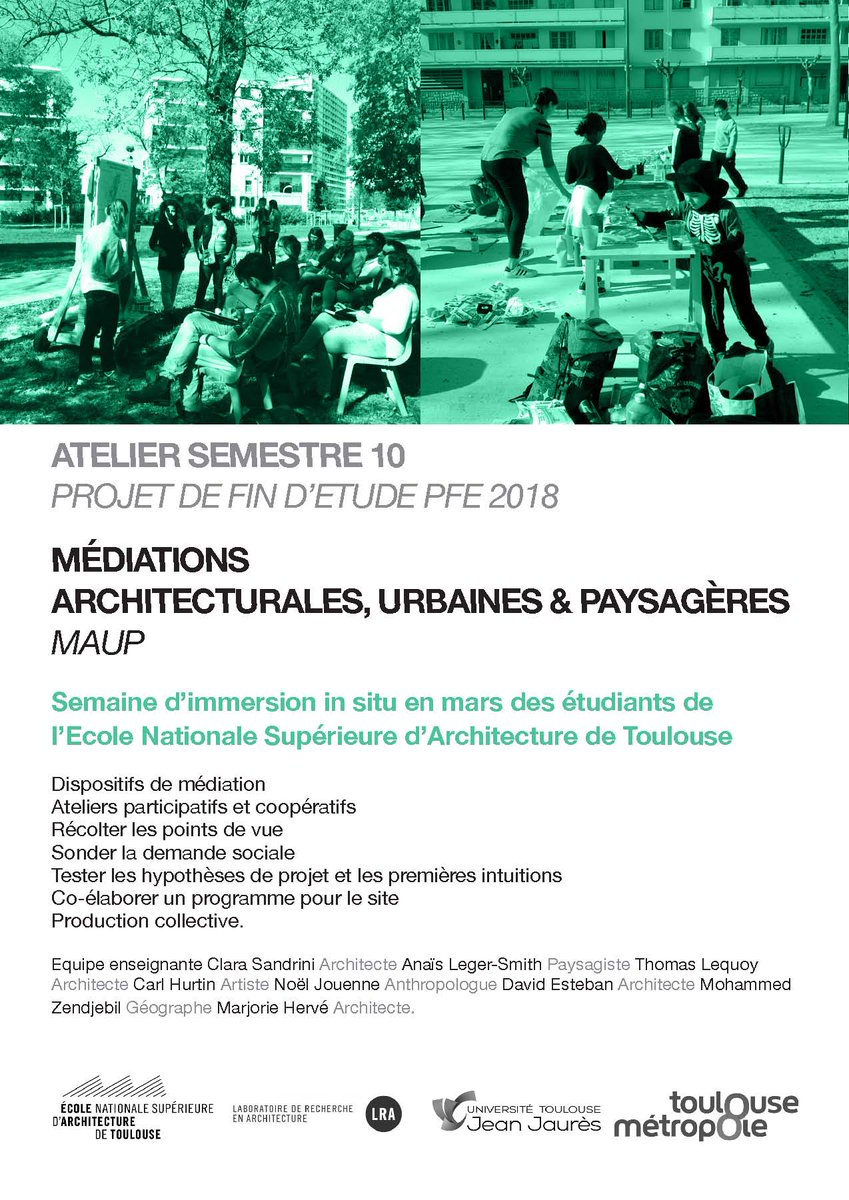 "Ecole D Architecture De Brest anaïs leger-smith on twitter: ""#onsite #participatory"