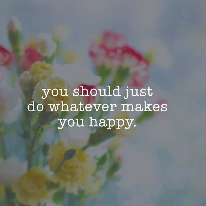 Do What Makes You Happy! What Makes you happy? Comment below + RT to Share the happiness and inspiration! #quoteoftheday #inspiration #quotestoliveby #quotesoftheday #QuotesForLife  #inspirationalquote #inspirationalQuotes<br>http://pic.twitter.com/lwzsMs5GHe