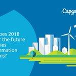 Image for the Tweet beginning: Prediction: #Utilities transformation programs will