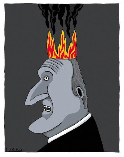 El TEDH pone las cosas en su lugar. Dibujo que en su momento publiqué en 20m. #DerechosHumanos #LibertadDeExpresion