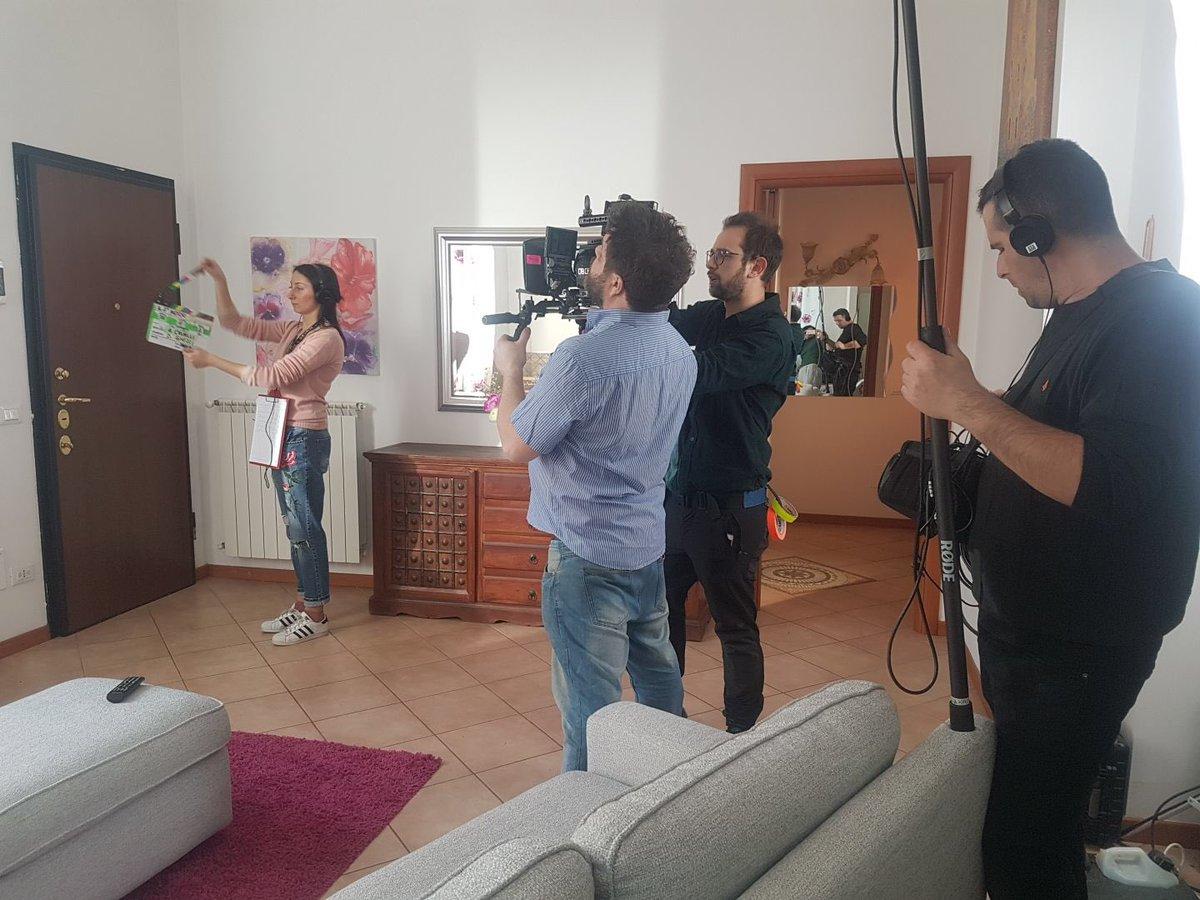 Shooting day2 #IlTerzoIndizio https://t....