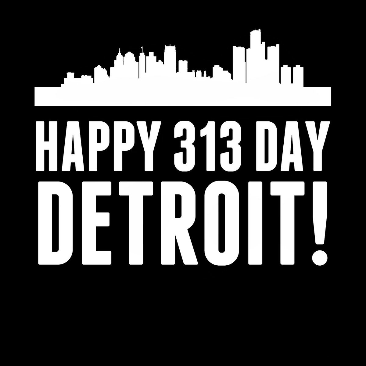 Showing Detroit love ❤ to the home of #t...
