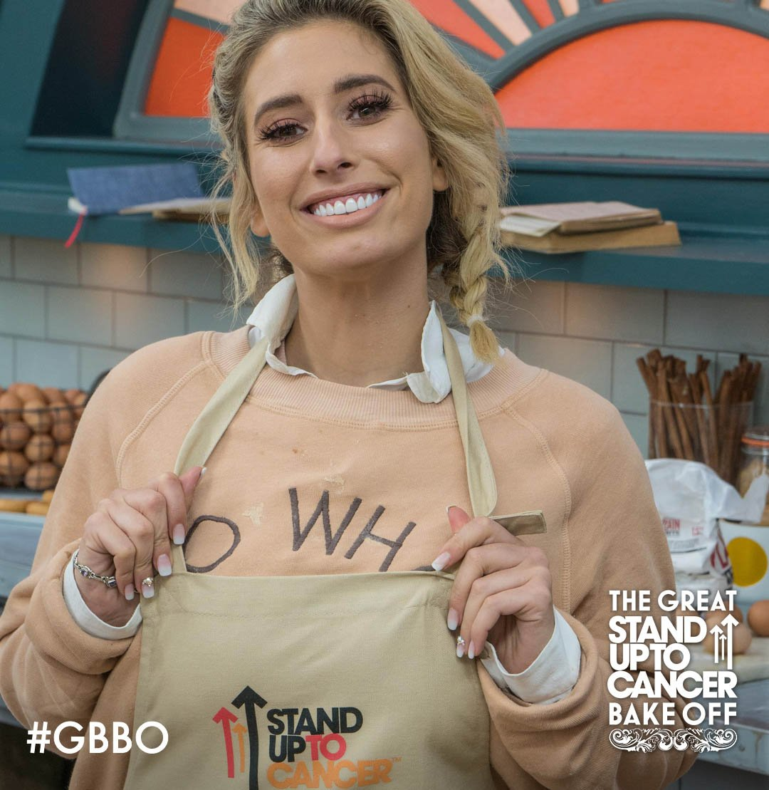 RT @BritishBakeOff: Has @StaceySolomon got the eggs factor? #GBBO for @StandUp2C. Tonight. 8pm. @Channel4. https://t.co/NXUHmTREie