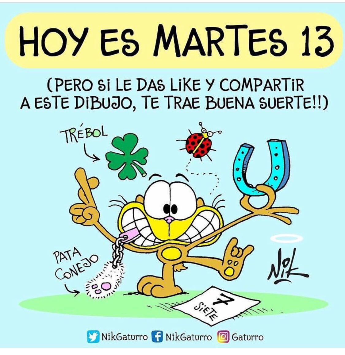#BuenMartes Martes 13 😳😱 https://t.co/fc...