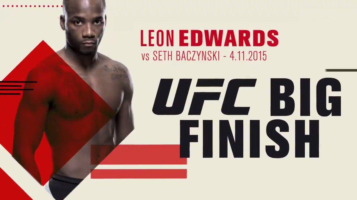MY GOODNESS❗️ @Leon_EdwardsMMA #UFCLondon
