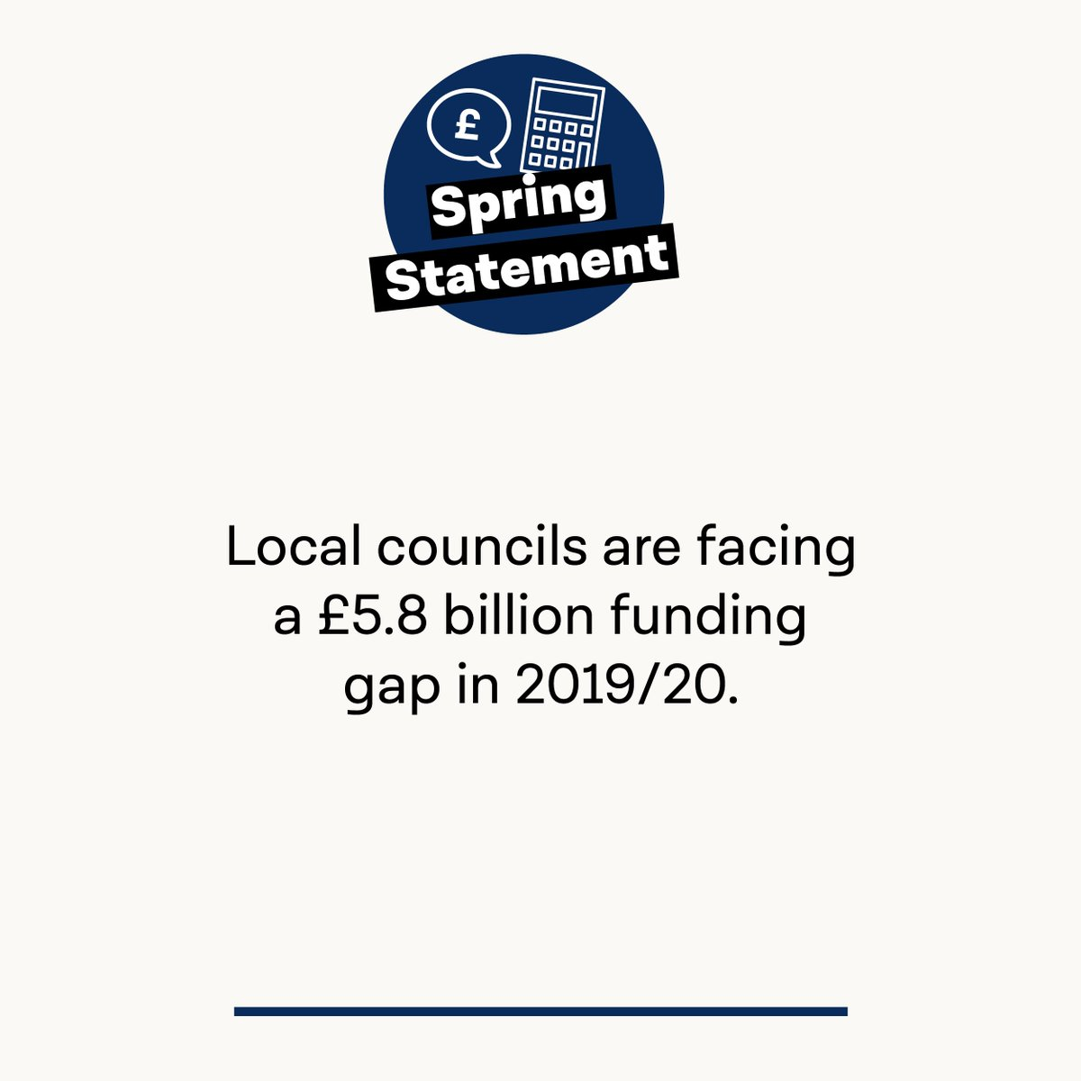 Tory cuts are having a devastating effect on local communities - it's time they got the funding they need. #SpringStatement