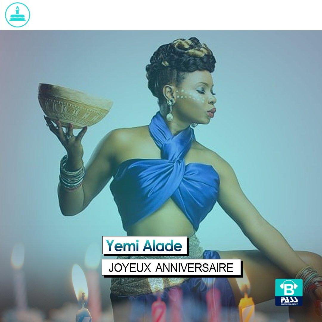 Joyeux Anniversaire à Yemi Alade ! https...
