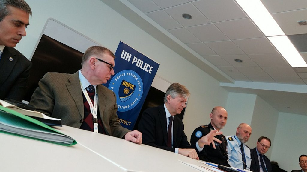 Police Division Retreat/ #UNPOL always field oriented to better assist the Police Officers that daily serve communities in need for support/ Proud to be Police Adviser of so highly skilled & committed #Police personnel/ Thanks for the support & leadership USG #DPKO & ASG #OROLSI