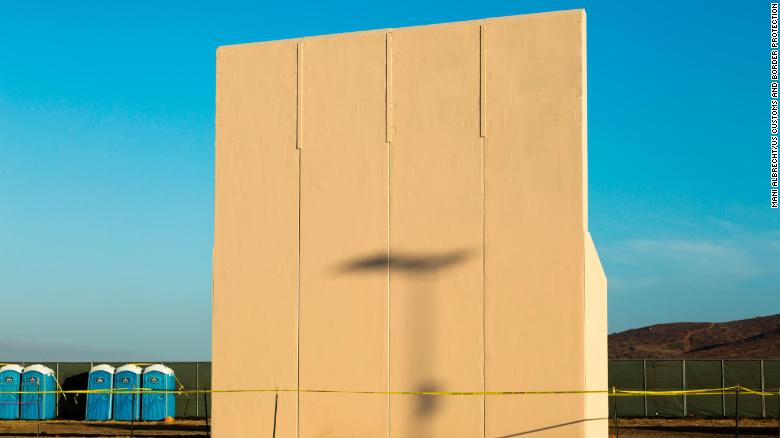 President Trump will visit his border wall prototypes today along the border in San Diego. Heres what hell see: cnn.it/2GmNmpy