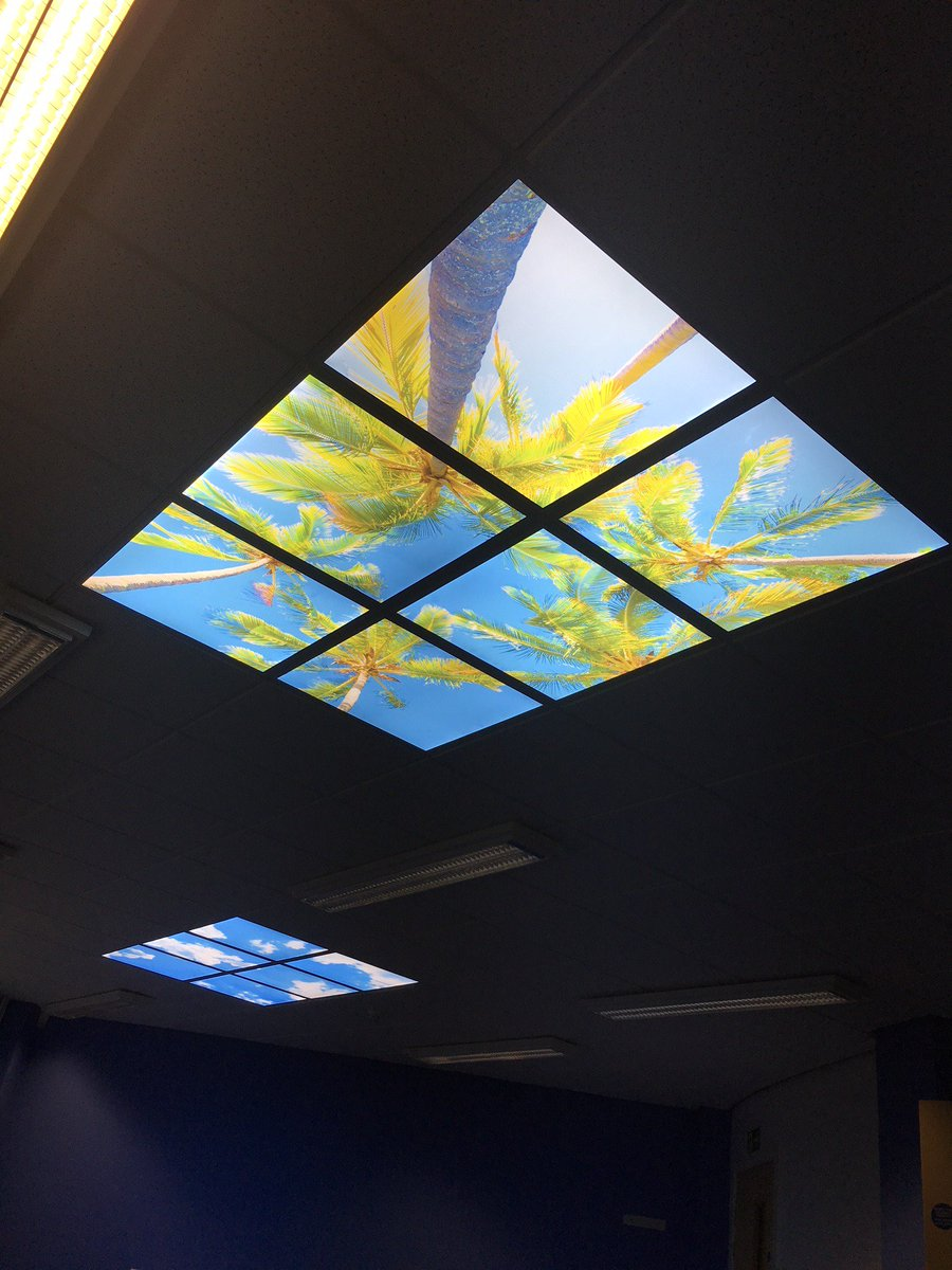 Humphreys signs on twitter brighten up your day illuminated humphreys signs on twitter brighten up your day illuminated ceiling tiles printed in high resolution on hp latex 560 installed by wifiwales using aloadofball Choice Image