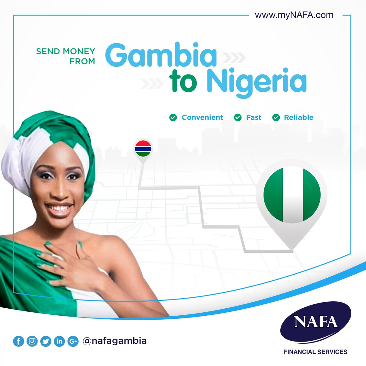 Way To Send Money From Gambia Nigeria With Zero Hle Contact Nafa Financial Services 2207762666 Great Rates Exceptional Service
