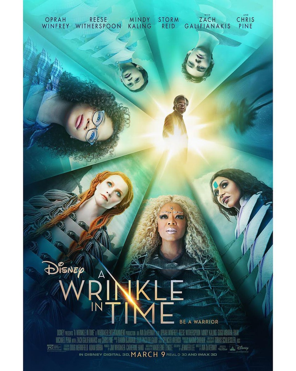 Taking the evening off Wonder Woman prep to go and see the gorgeous and pure of spirit work @ava  & the gang have cooked up for us. So excited to see it! Go Ava!! Go Ava!! @WrinkleInTime #EUPremiere