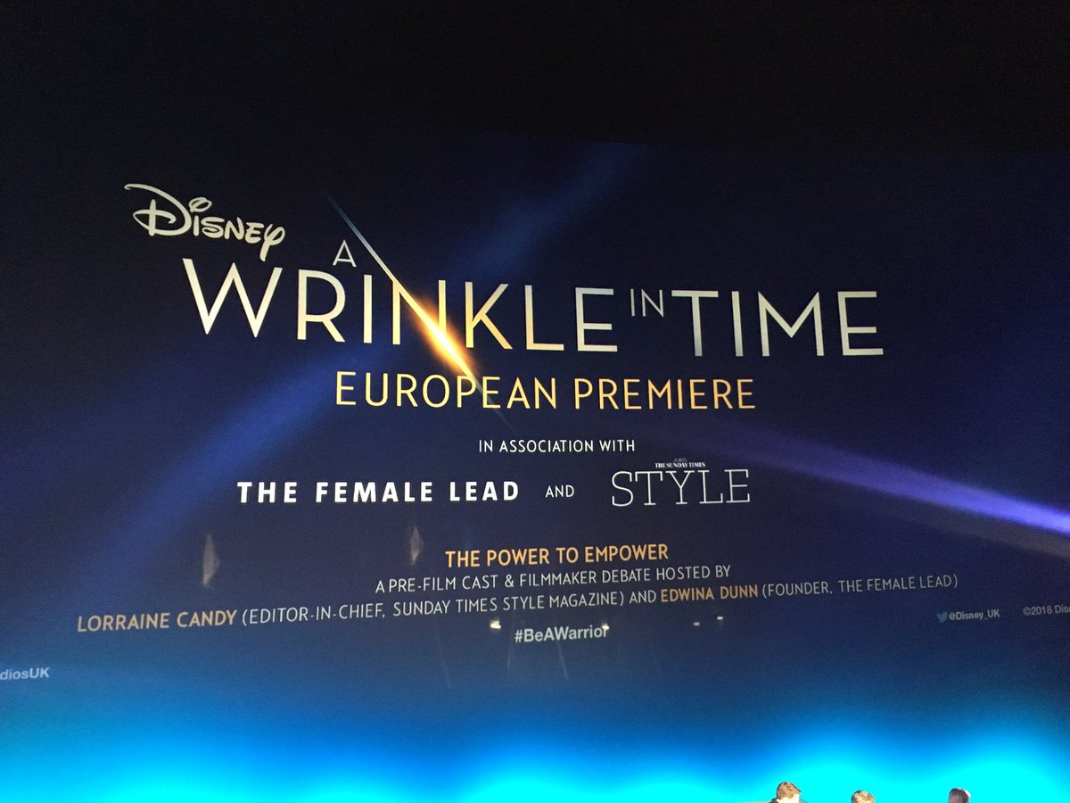 Sunday Times Style's photo on #WrinkleInTime