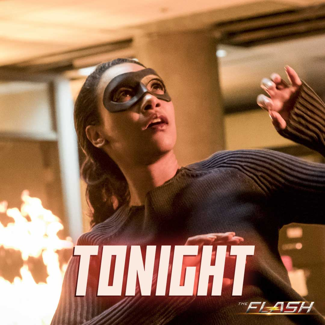New #TheFlash, New Iris! Be sure to catch tonight's episode at 8/9mt on CTV Two! #RunIrisRun cc: @candicekp