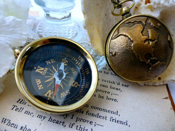 Excited to re-list this popular World Travel Compass for Him or Her - Unisex #Steampunk #Compass. in my #etsy shop- #TraveNecklace #wanderlust #travelgift #PoeticDesigns https://t.co/oIy9exuB3z