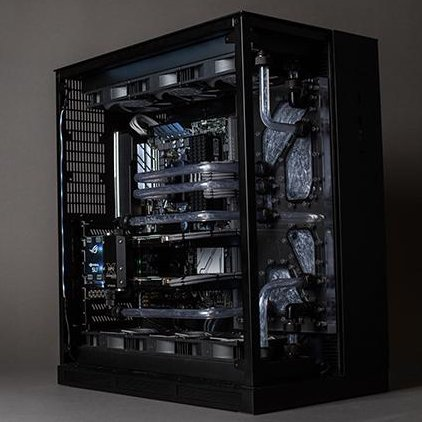 Check out Horyzen, a beautiful build from modder Matthew Paige that packs two GeForce GTX 1080s and a Ryzen 1700x. nvda.ws/2p8kNoy