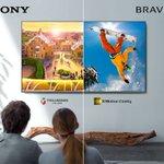 Urlaubsfotos oder Winterspiele? Jetzt musst du dich  nicht mehr zwischen Farben oder klarem Bild entscheiden. Entdecke unsere  neuen #Fernseher: https://t.co/WEfiLU8T6t #Sony