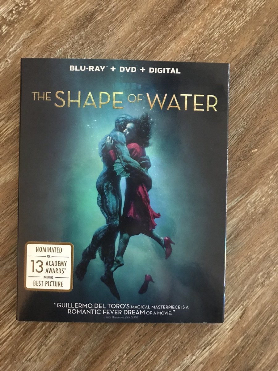 At last, it's mine!!! #TheShapeofWater h...