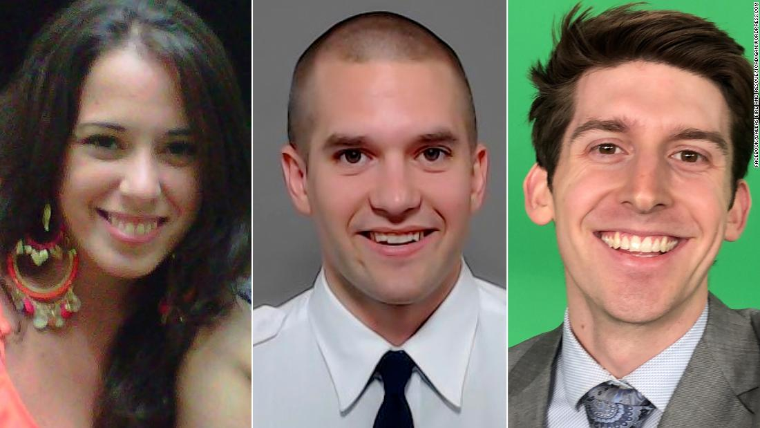 A young news reporter, a firefighter and a tourist from Argentina were among the five passengers who died in a helicopter crash in New Yorks East River cnn.it/2pey0LV