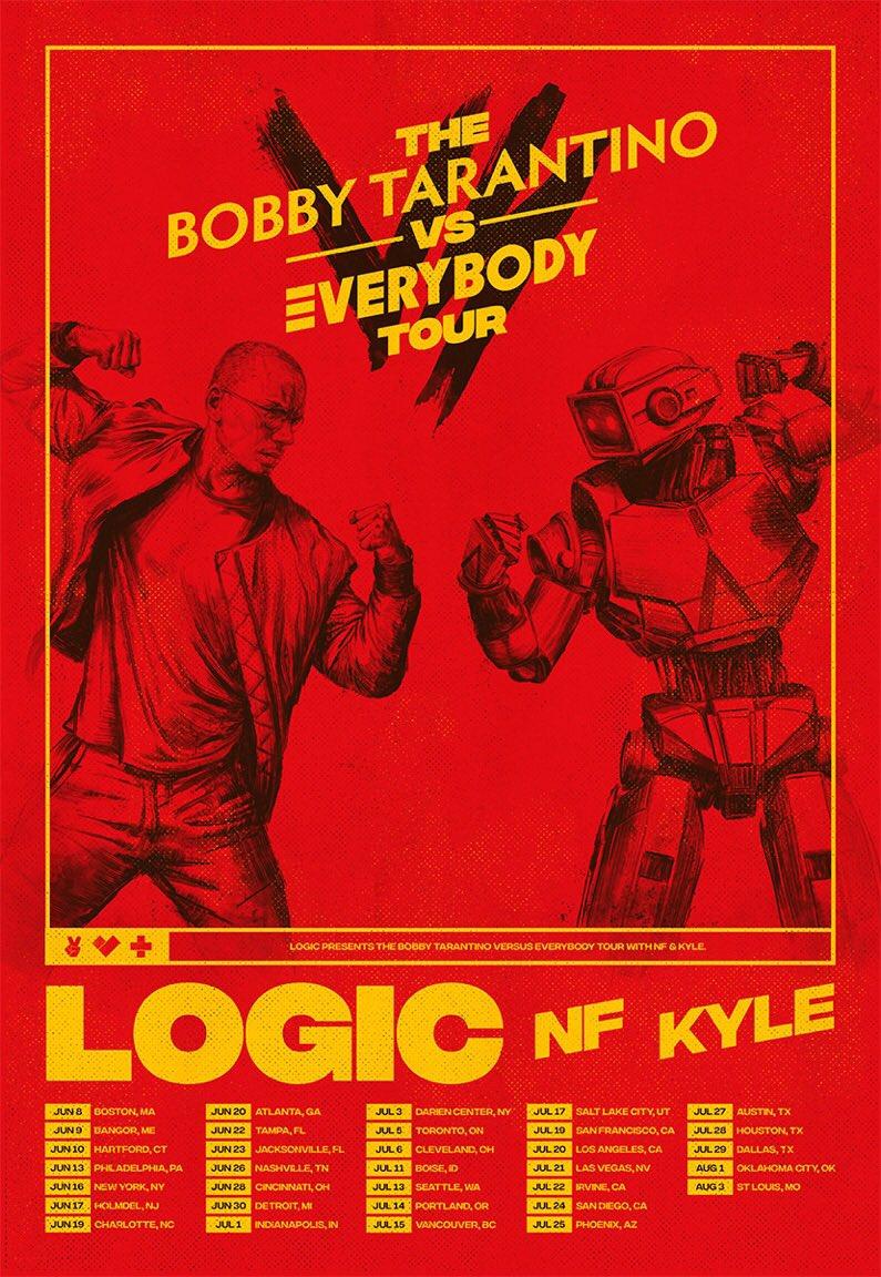 The Bobby Tarantino vs Everybody Tour. Tickets on sale Friday.