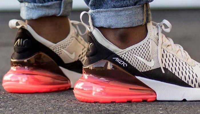 "Nike Air Max 270 ""Light BoneHot Punch"" ON FEET"