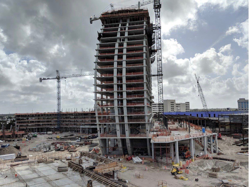 Kirlin On Twitter The New Guitar Shaped Hard Rock Hotel Is Starting To Take Shape In Hollywood Fl We Are So Excited Have A Part Bringing This