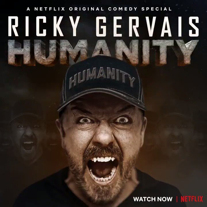 #Humanity is now streaming on Netflix