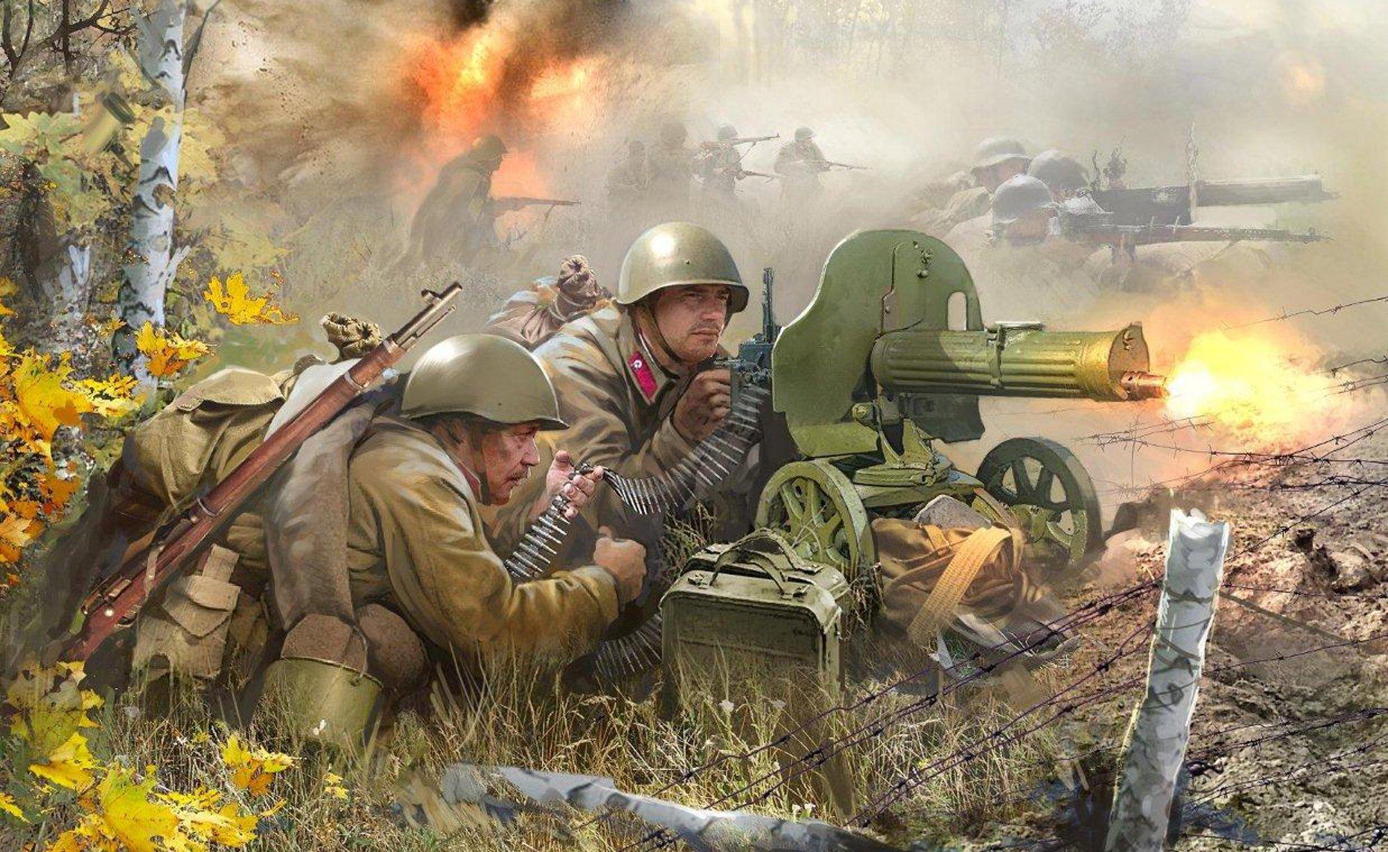 Открытки о во войне, фон для поздравления