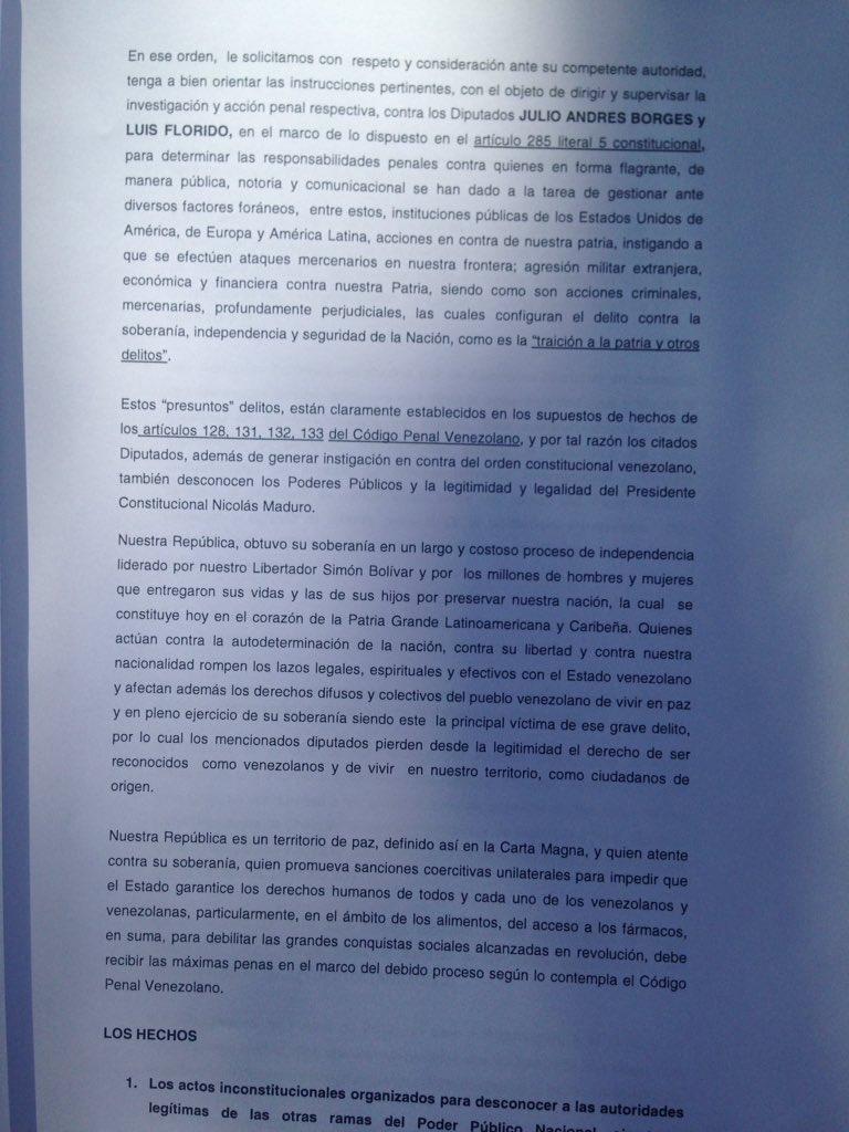 Panamá - Venezuela un estado fallido ? - Página 31 DYLQToCWsAIpX75