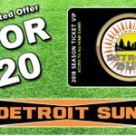 Image for the Tweet beginning: DETROIT SUN FC  SUPPORTER SCARVES ALL