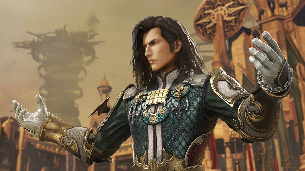 In the name of House Solidor, no sacrifice is too great. Vayne Carudas Solidor from FFXII (Vanguard) is coming to #Dissidia FFNT at the end of April as the 1st of 6 characters featured in the Dissidia FFNT Season Pass!