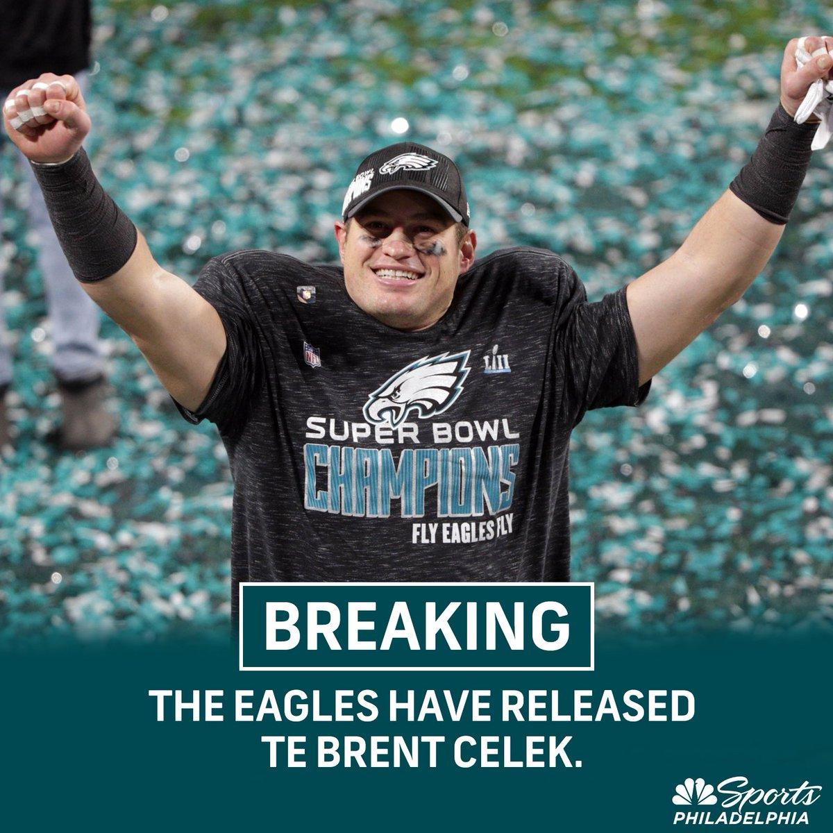 NBC Sports Philadelphia's photo on Brent Celek