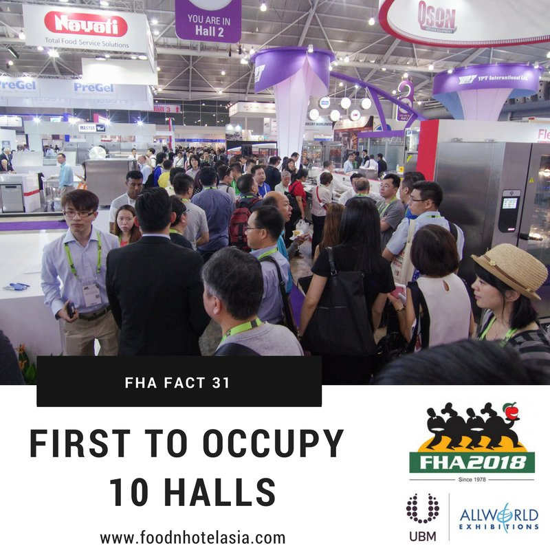 test Twitter Media - FHA fact 31: In 2014, FHA was the first trade event in Singapore to fully occupy all 10 halls of Singapore Expo – the largest purpose-built exhibition venue in the country https://t.co/lG1TyzZ7qN #FHAturns40 #FHAFunFacts #Tradeshow #Exhibition #ExportSuccess #SaturdayMotivation https://t.co/olh5GdflRa