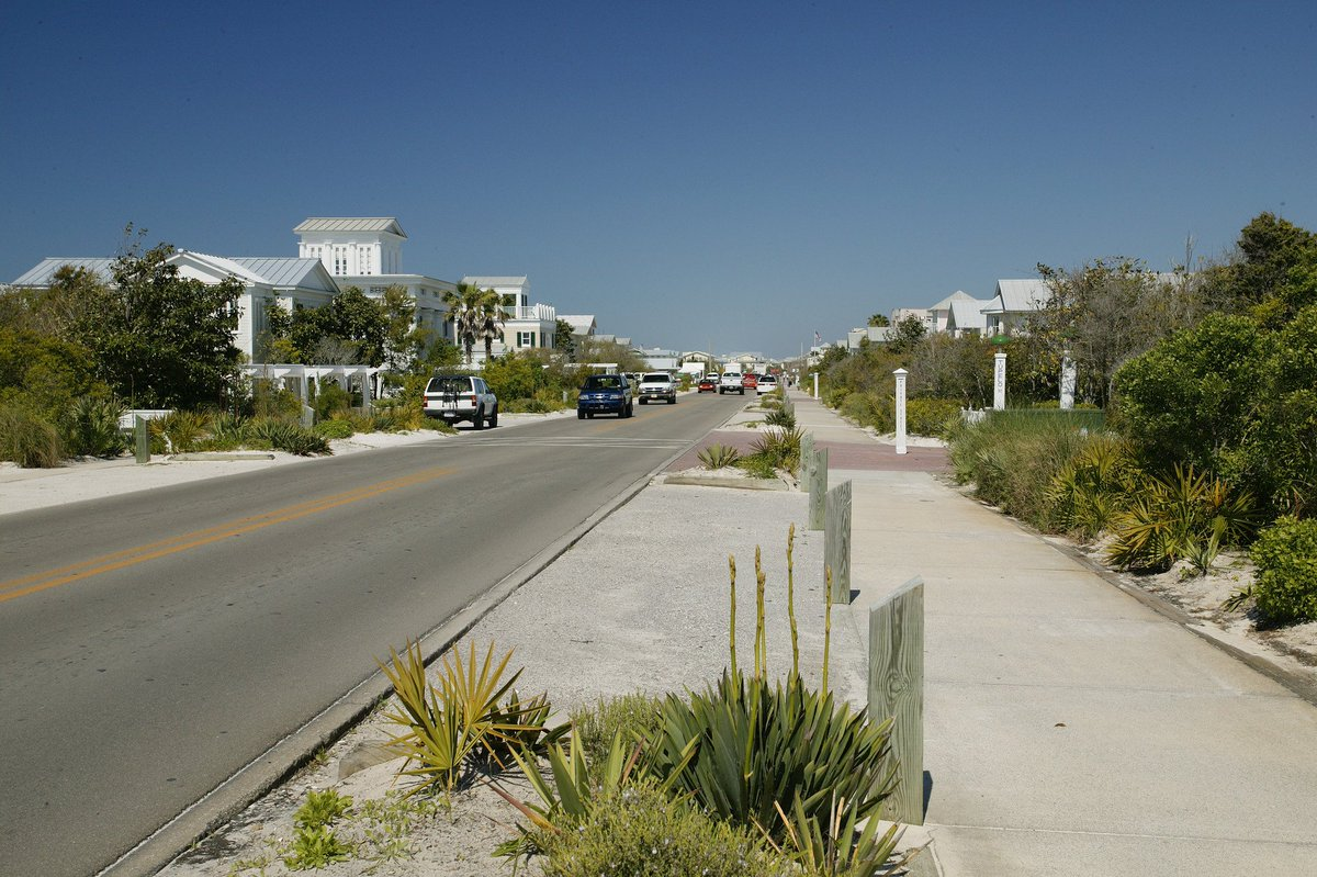 A5: Traveling down scenic highway #30A!...