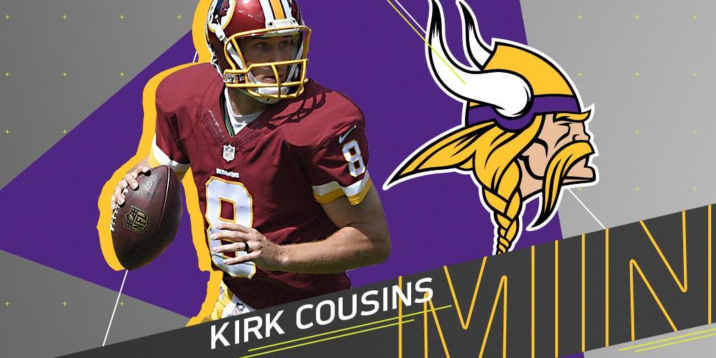 NFL's photo on Kirk Cousins