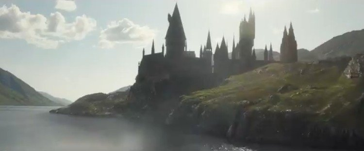 Yo al ver Hogwarts en el trailer de 'Ani...