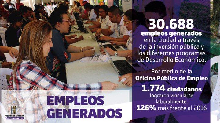 30.688 empleos generados a través de la...