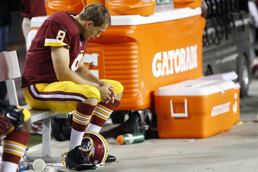 IKE Packers's photo on Kirk Cousins