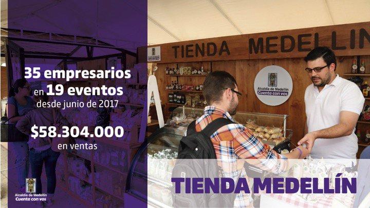 Apoyos a través de Tienda Medellín - Mer...