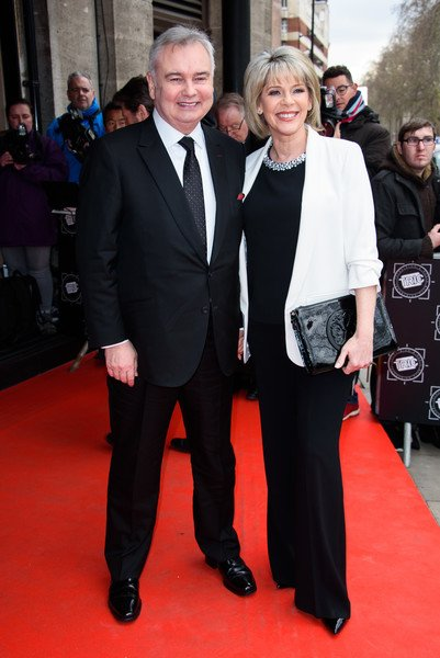 RT @RuthLUpdates: Cute photo of @RuthieeL and @EamonnHolmes at the @TRICawards #TRICawards https://t.co/INir9jpaCx