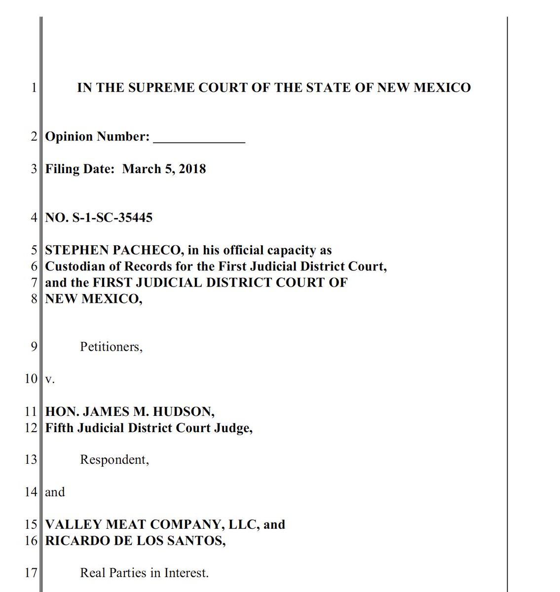 New mexico public court records