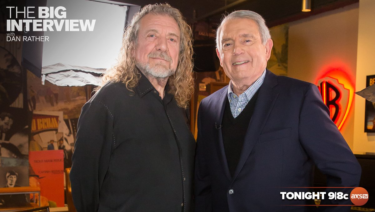 Tune in to see RPs chat with @DanRather on #TheBigInterview on @AXSTV tonight at 9/8c! You can set your DVR at vupulse.com/c/3027